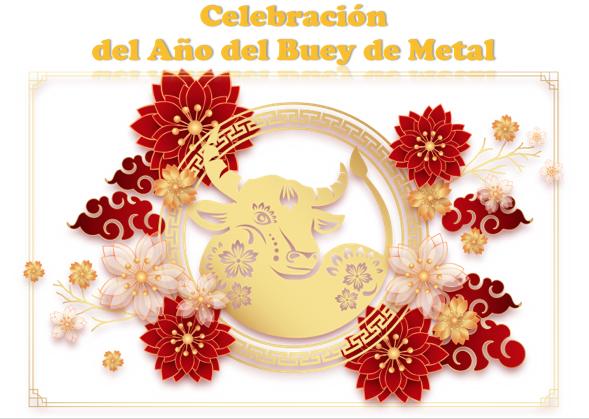Celebrando el año del Buey de Metal