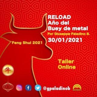 RELOAD Año del Buey de Metal 2021 30/01/2021  Online  Sábado 30 de enero  WhatsApp   Una nueva oportunidad para prepararte a recibir las nuevas oportunidades que trae el año nuevo chino del Buey de Metal Con @gpaladinob ✨Feng Shui 2021 ✨Estrellas Voladoras  ✨24 montañas ✨Paht Chee ✨Energías, curas, limpiezas y protecciones para cada signo Astrología  occidental y china ✨Aprendizajes y más  Más información por Dm  #fengshui2021 #fengshui #astrología #energiasyseñales #cincoelementos #crecimientopersonal #asesorfengshui #terapeutasistemico #astrólogo